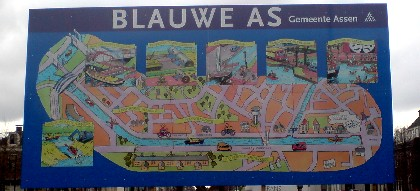 Infobord Blauwe As